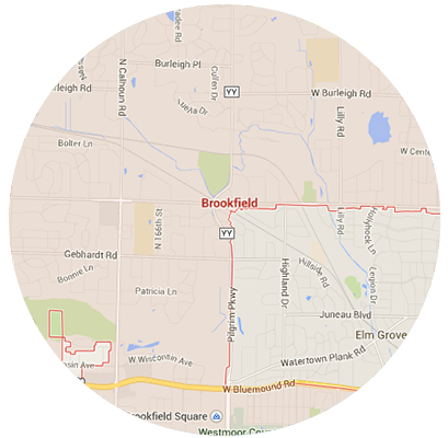Brookfield Garage Door Service Areas