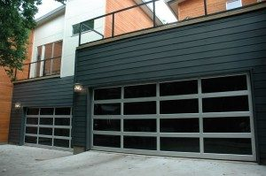 contemporary style glass garage door brookfield wi